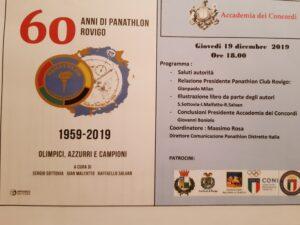 PANATHLON ROVIGO RACCONTA I SUOI 60 ANNI