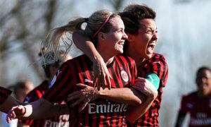 Calcio Femminile: LO SPEZZATINO E' INDIGESTO