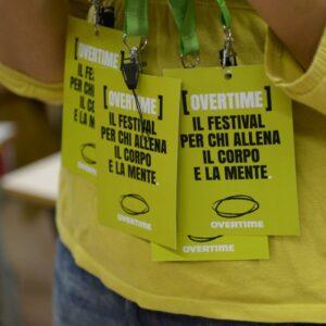 OVERTIME FESTIVAL (Festival Nazionale del Racconto e dell'Etica Sportiva)