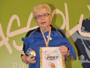 Ricordando EDITH HUBER SANTIFELLER, estroversa campionessa di pingpong