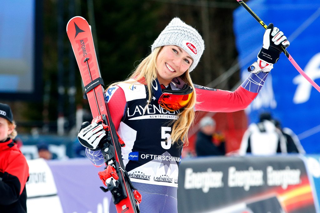 MIKAELA SHIFFRIN PENSA ALL'ITALIA
