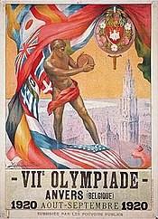 Olimpiadi Capitolo 13: ANVERSA 1920, I GIOCHI RIPARTONO