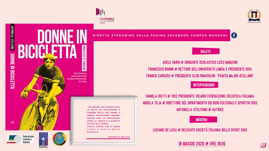Donne in bicicletta farà tappa al Liceo Manzoni di Caserta