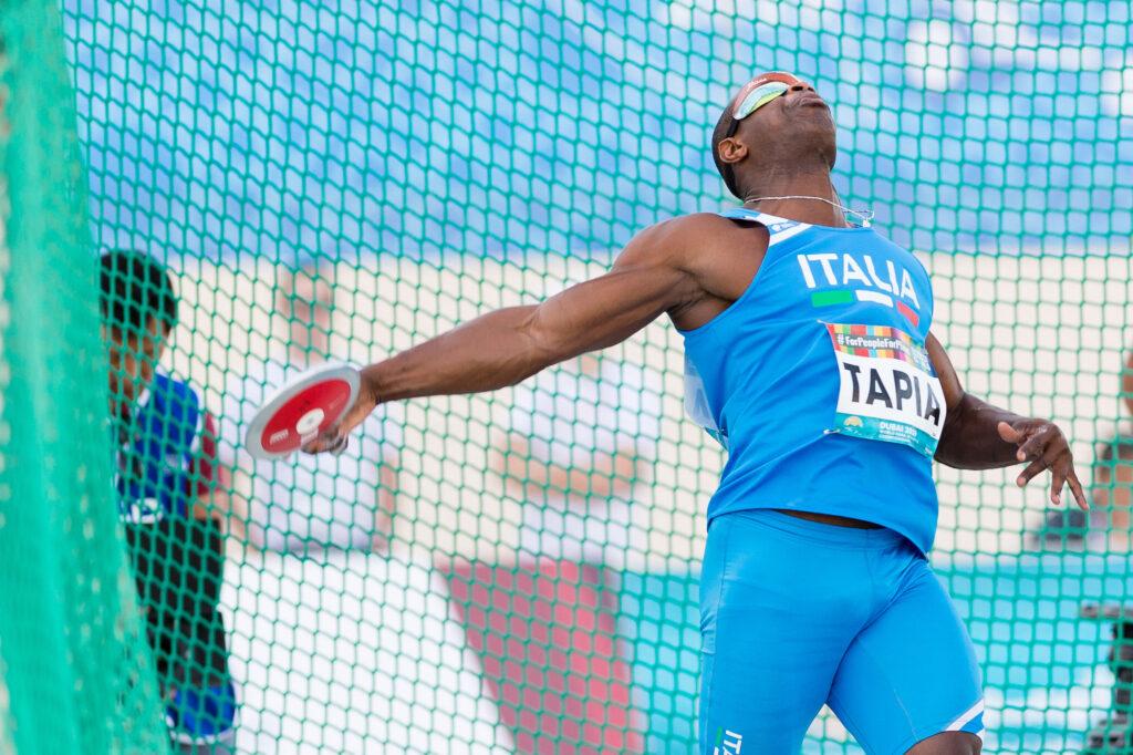 Atletica para(O)limpica: Tapia a Castiglione della Pescaia per il debutto stagionale