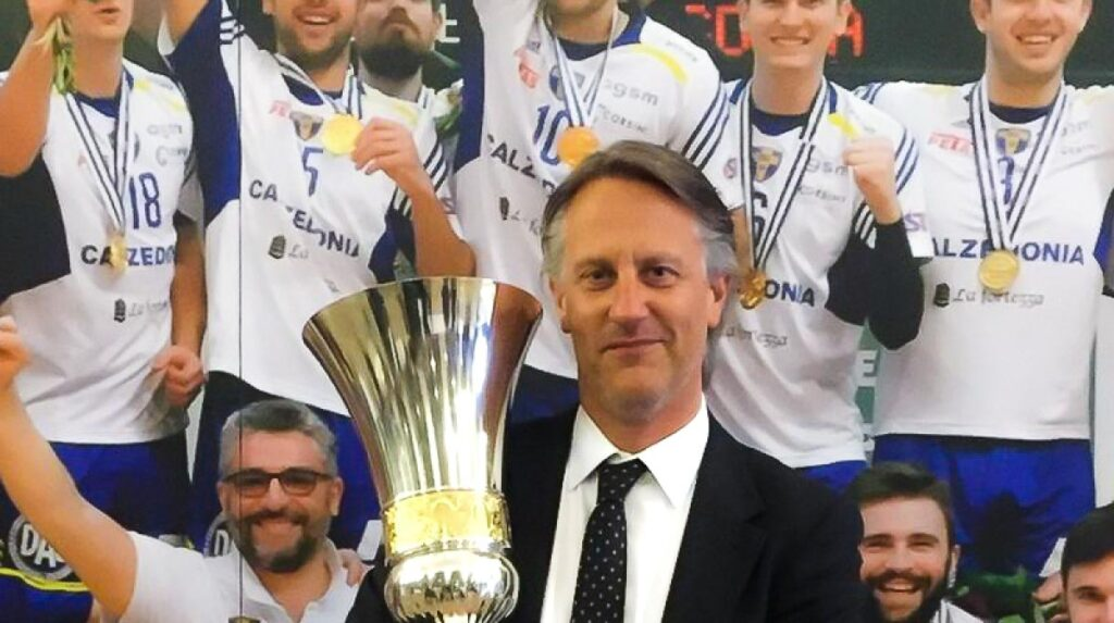 Volley, riconfermato Stefano Fanini