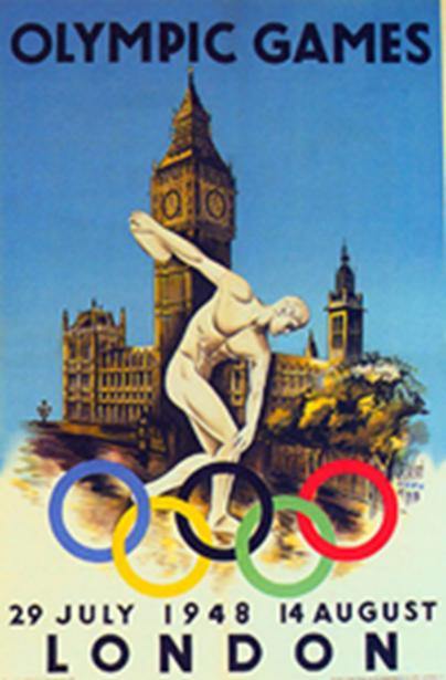 1948 LONDRA – I Giochi della rinascita