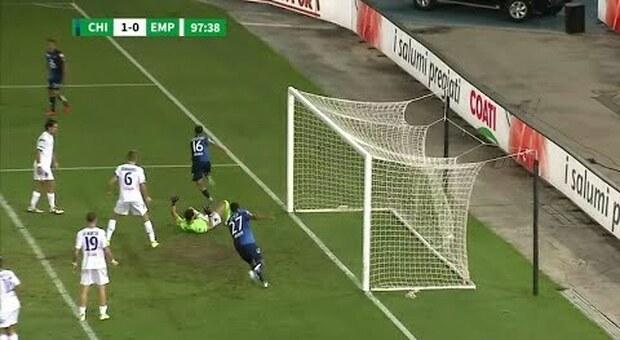 Play-Off serie B: ChievoVerona-Empoli, 3  rigori: 2 parati ed 1 sbagliato