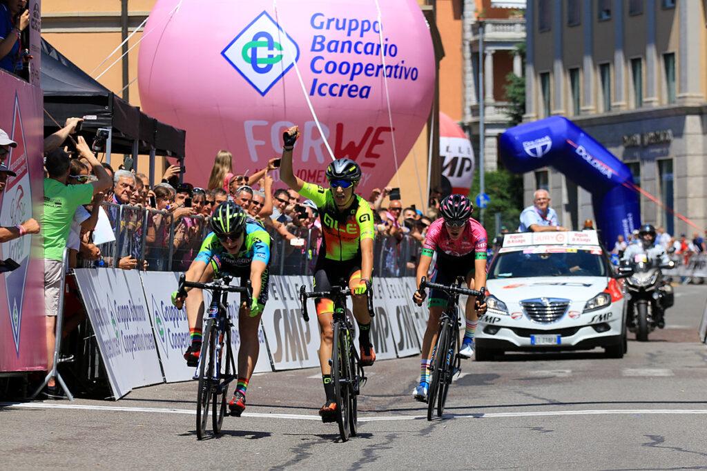 Il Giro d'Italia internazionale femminile giunge in Umbria anche grazie al Panathlon