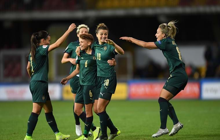 Le ragazze alla conquista della Women's Euro 2020