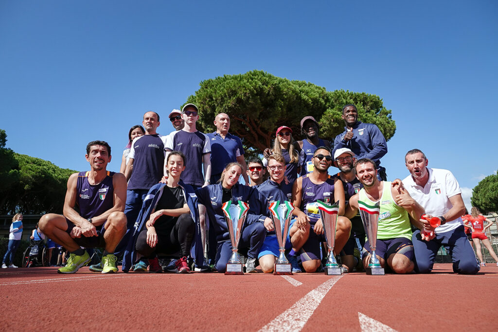 I Societari di Atletica para(O)limpica per la prima volta al Tre Fontane di Roma