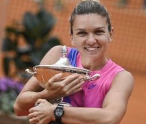 Simona Halep vince gli Internazionali di tennis a Roma
