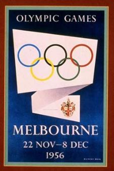 XVI^ Olimpiade, 1956 Melbourne