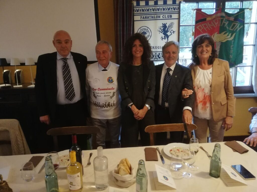 Panathlon Area 10 Umbria: Interclub 2020 al Golf Club Santa Sabina