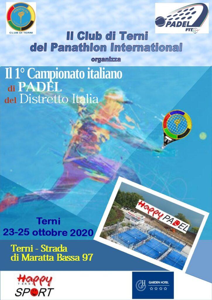 Panathlon International Distretto Italia – Assemblea Ordinaria Elettiva– 3 ottobre 2020 Roma – Salone d'Onore del Coni