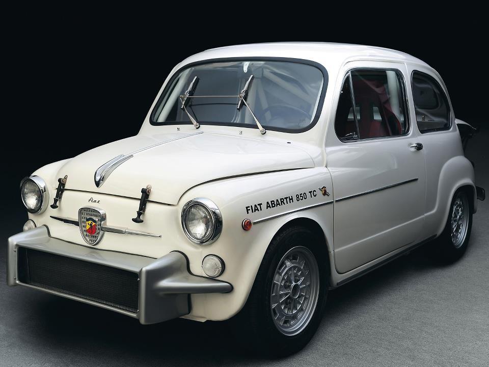 Ruote d'Oro: LA FIAT ABARTH 850 TC