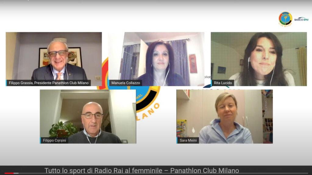 VideoIncontriamoci al Panathlon, quattro chiacchiere con le voci femminili della Rai