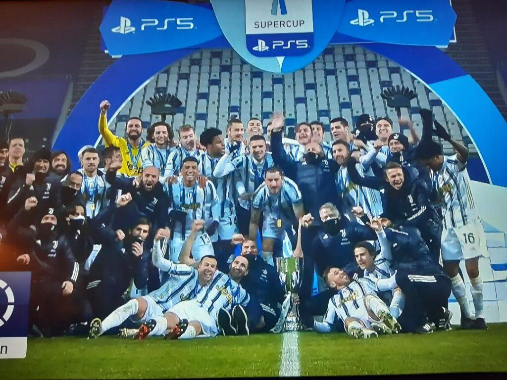 Supercoppa alla Juventus