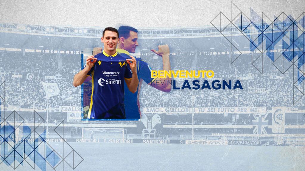 Kevin Lasagna è gialloblù!