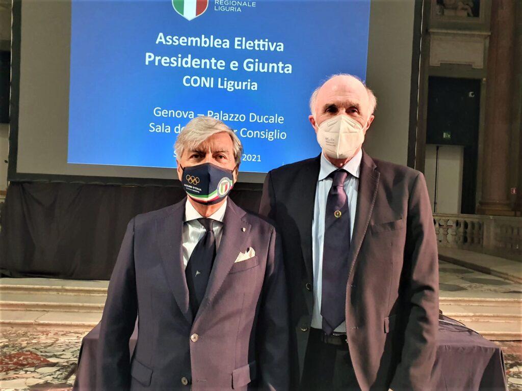 Antonio Micillo rieletto Presidente Coni della Liguria