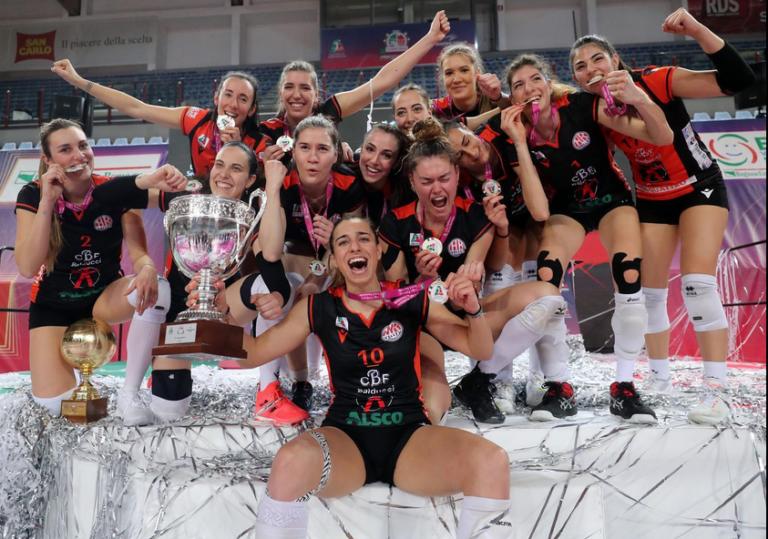 Coppa Italia A2 se l'aggiudica Cbf Balducci Hr Macerata, primo trofeo della sua giovane storia