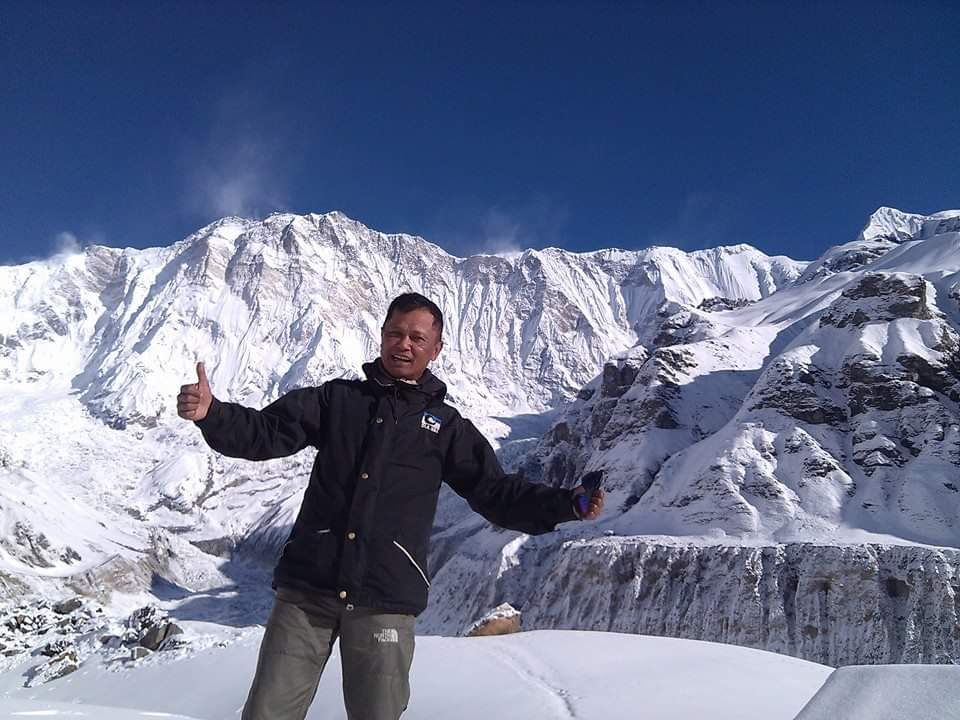 La foto del giorno: Supa Tamang che ci segue dal Nepal...qualche minuto dopo ci ha risposto