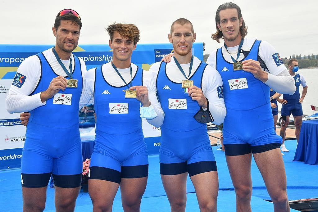 Canottaggio - Europei assoluti. Per l'Italremo 8 medaglie e il secondo posto nel medagliere per nazione