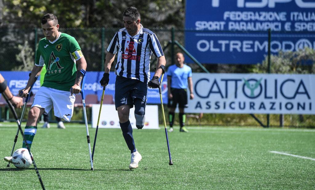 Calcio amputati: Campionato, dominio Nuova Montelabbate e Vicenza