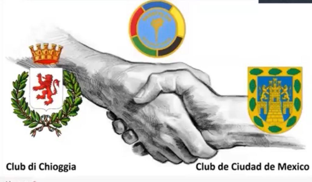 Gemellaggio Transoceanico:Panathlon Chioggia - Panathlon Città del Messico