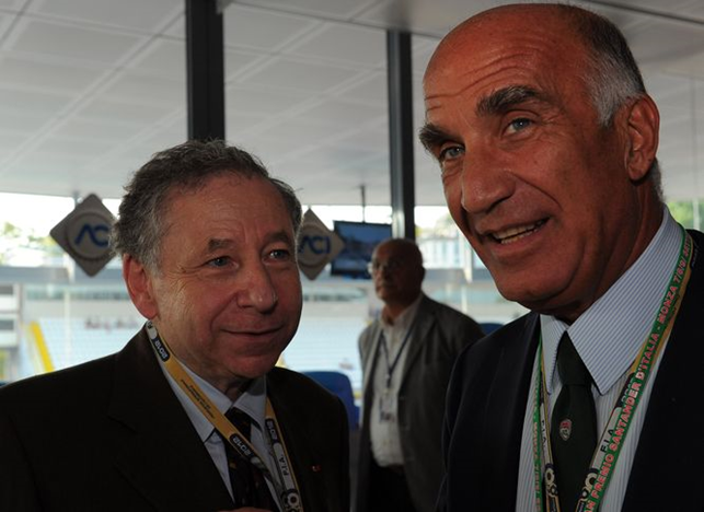 Intervista ad Angelo Sticchi Damiani, panathleta leccese, vice presidente della Federazione Internazionale Automobilistica, braccio destro di Jean Todt