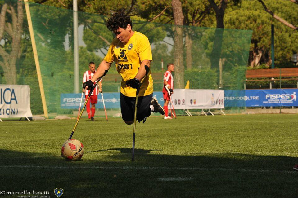 Marco Buonocore convocato al raduno della Nazionale Calcio Amputati: un orgoglio per la Levante C Pegliese