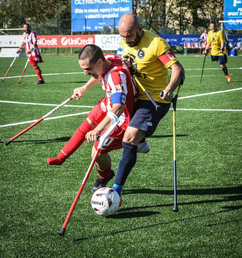 Calcio amputati: da oggi Azzurri in raduno a Formigine (MO)