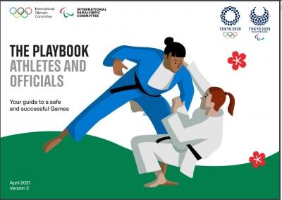 Il Playbook per atleti ed ufficiali partecipanti a Tokio 2020