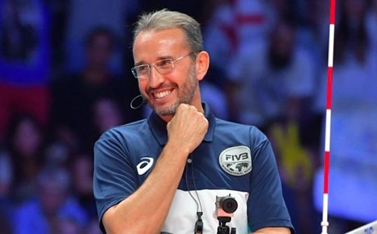 L'ascolano Fabrizio Pasquali Designatore internazionale degli arbitri di volley