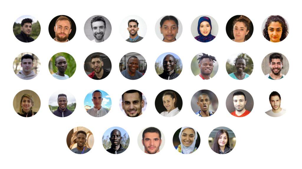 29 athlètes réfugiés enverront au monde un message de solidarité et d'espoir aux Jeux Olympiques de Tokyo 2020