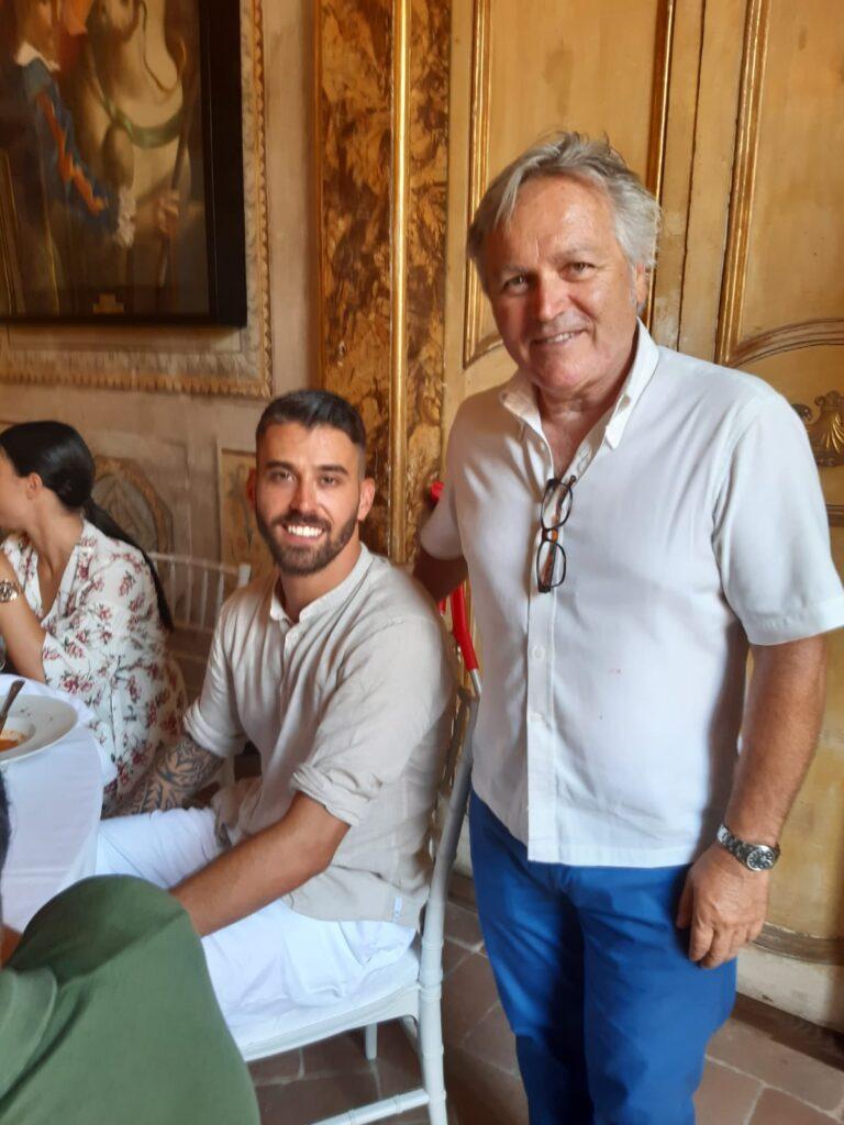 Onori panathletici a Leonardo Spinazzola