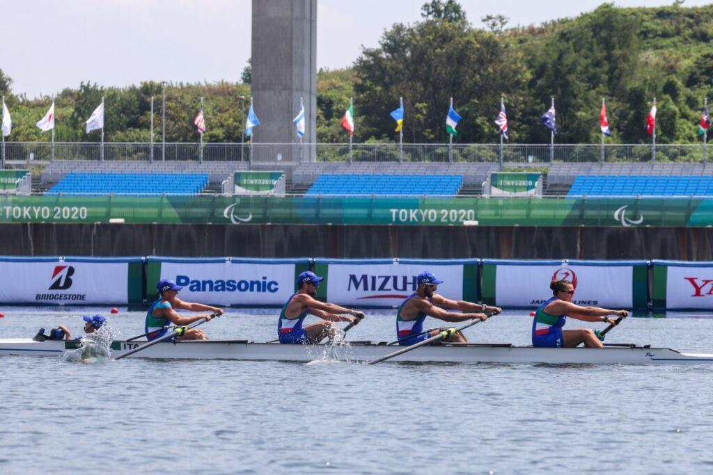 Para(O)limpiadi Tokyo 2020. Le barche azzurre ai recuperi