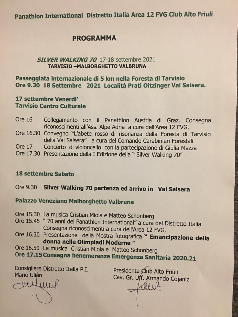 Panathlon Area 12: