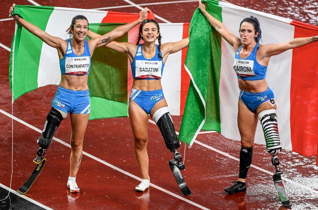 INFO FISPES: Atletica: show Caironi, Sabatini, Contrafatto, podio tutto tricolore nei 100. L'Italia saluta Tokyo con 9 medaglie