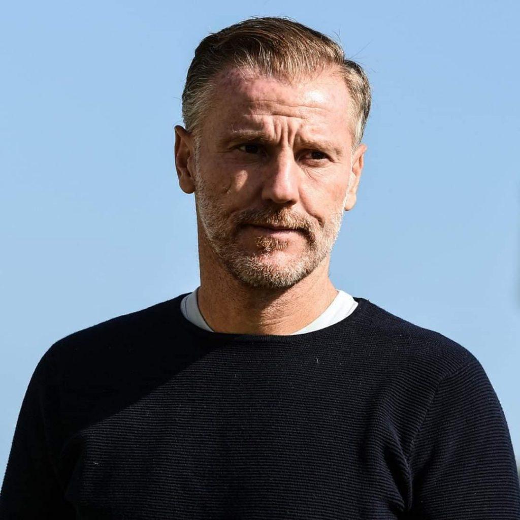 Michele Marcolini, allenatore dell'Albino Leffe, un esempio di equilibrio e signorilità